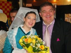 Marie et son père